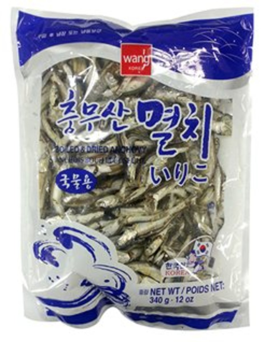 Boiled & Dried Anchovy韓國高湯用大鯷魚乾