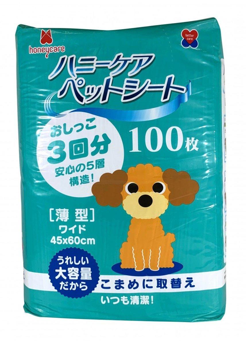 薄型寵物尿墊 60x45cm 100枚入