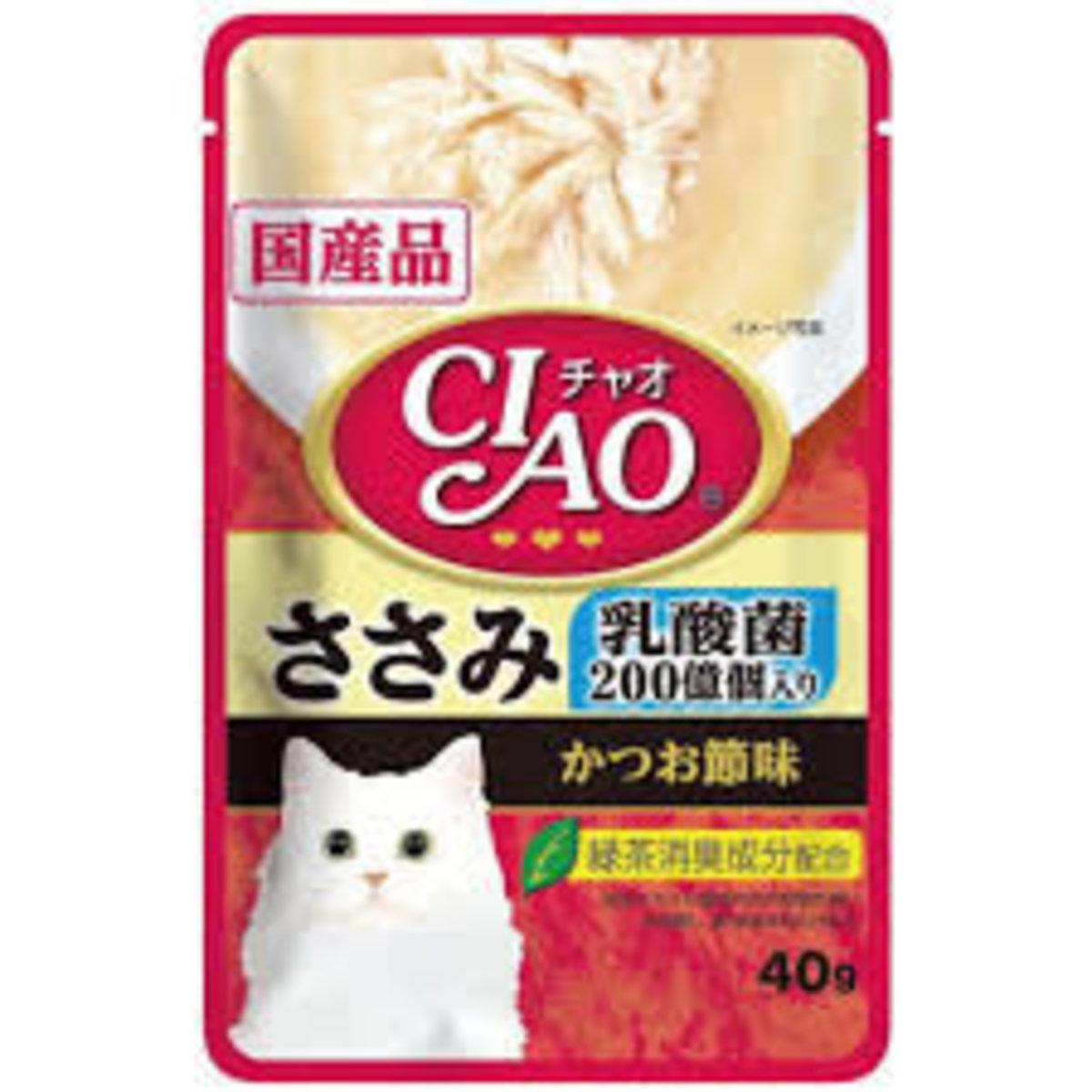 日本CIAO袋裝湯包 乳酸菌 吞拿魚 雞肉.帶子 40g (IC-326)