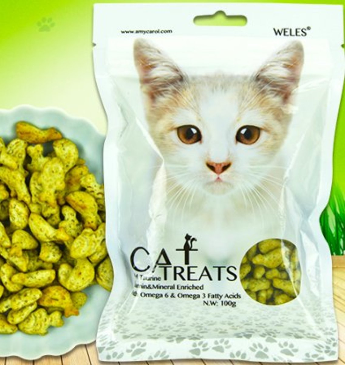 Cat HairBall Removal Snacks(CAT GRASS)