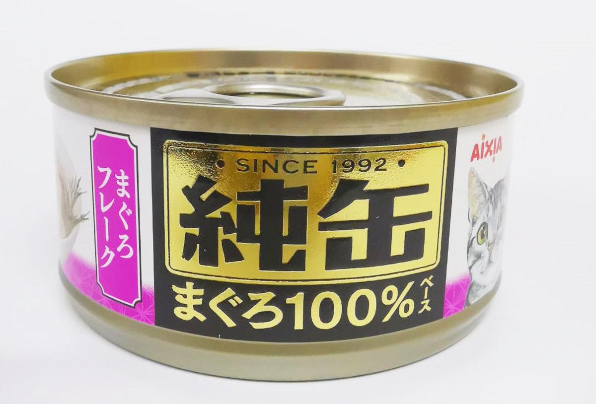 Canned Cat Food Minced tuna (JMY-21) 65G Pink purple