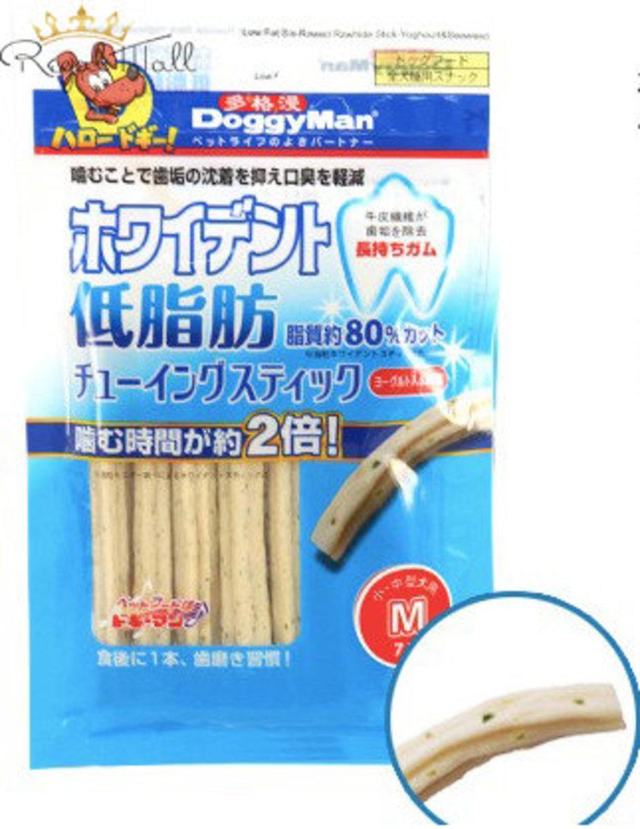 狗狗低脂肪零食系列 海藻&乳酪 牛皮磨牙六角棒 12本(1245)