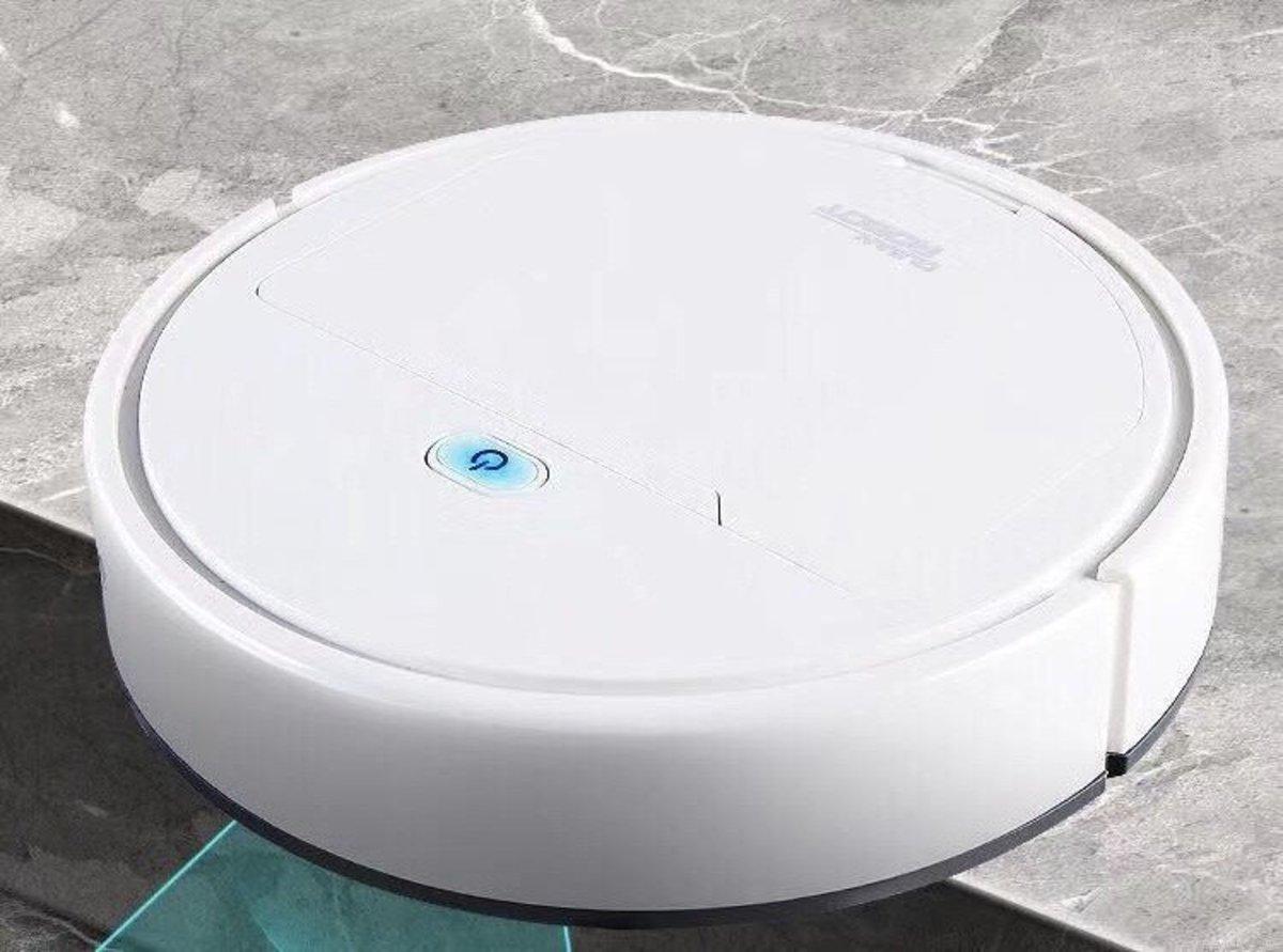 黑色 3合1吸拖掃式迷你智能掃地機器人 USB充電