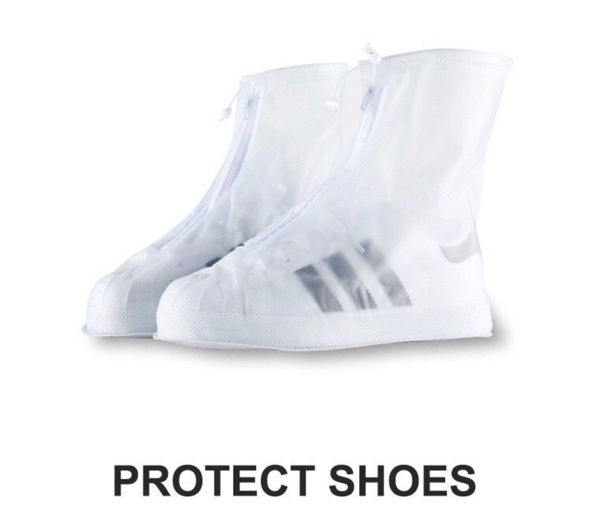 [XXL兩套裝] PVC防雨鞋套