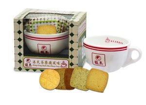 Hong Kong Style Cha Chaan Teng Cookie with Mug Gift Box, 8pcs