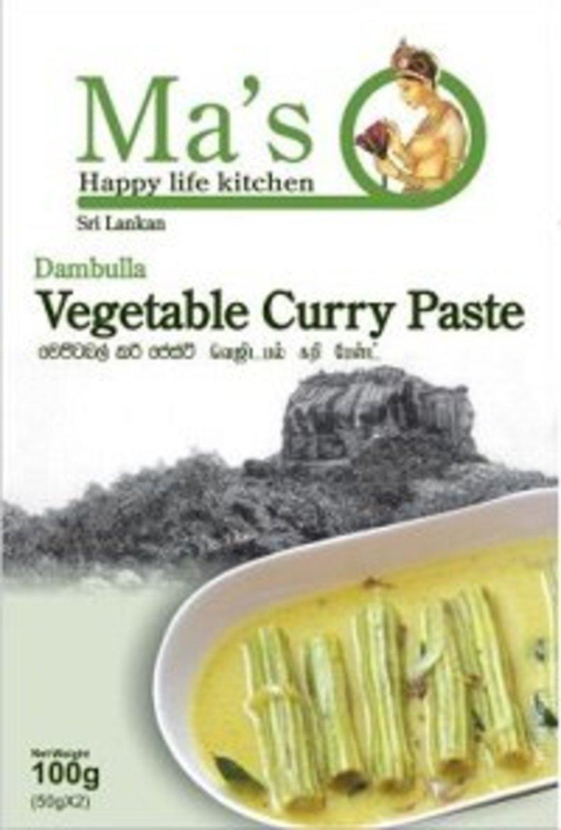 蔬菜咖哩混合醬 (5盒)