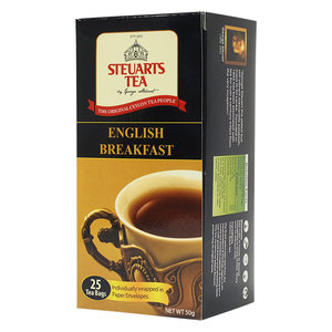 George Steuart 英式早餐茶包 | 英國早餐茶包 | 紅茶包 (25個裝) 25包 x 1盒