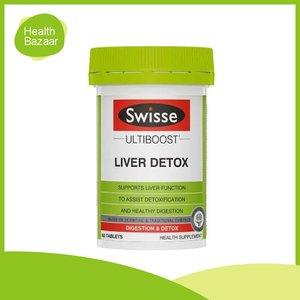 Swisse ULTIB LIVER DETOX 60S Genuine Goods [Authentic] (Expiry: Aug 2022)