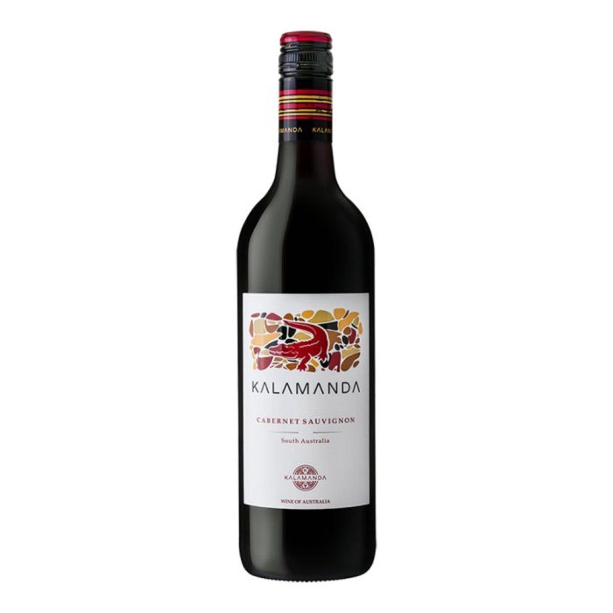 卡拉曼達赤霞珠紅酒