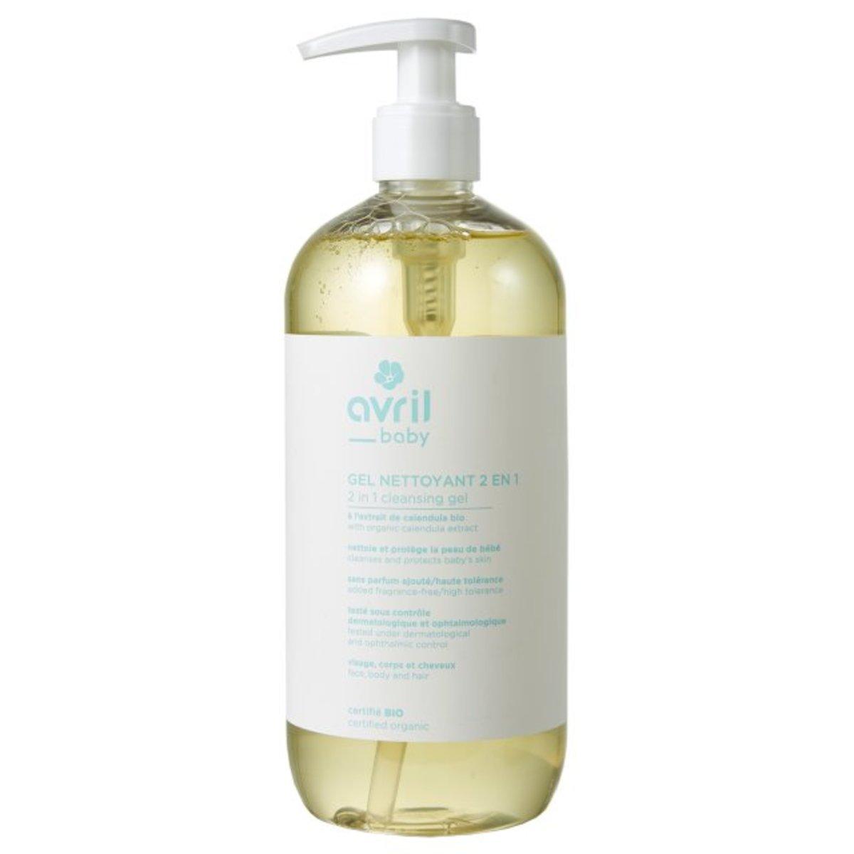 Organic Baby Cleansing Body Wash Gel 500ml