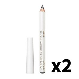Shiseido 資生堂 Eyebrow Pencil #4 Grey 1.2g X2 2pcs