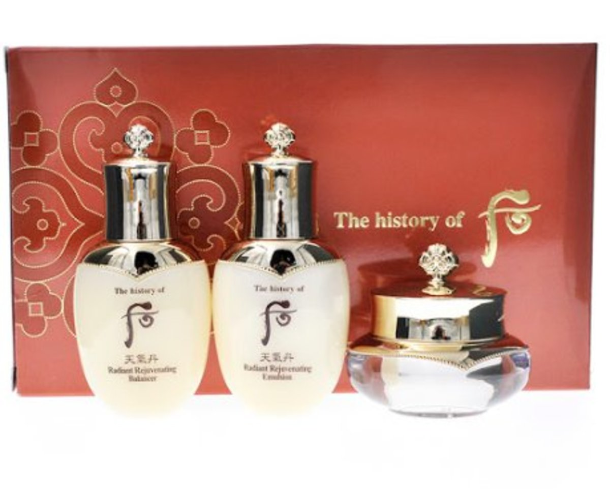Cheongidan Radiant 3 pcs gift set