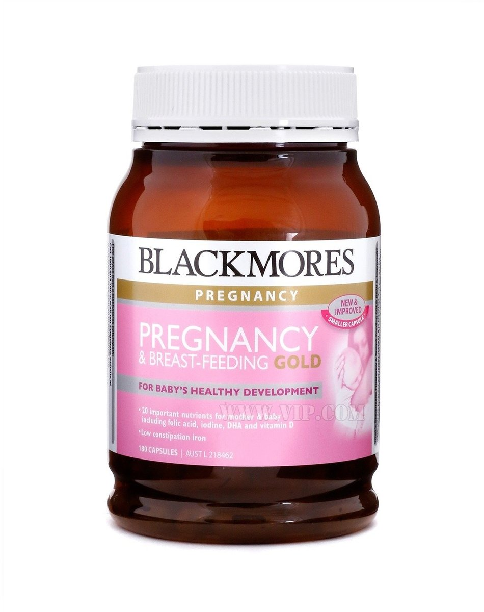 Pregnancy and Breast Feeding Gold 180 Capsules (EXP:01 2021)