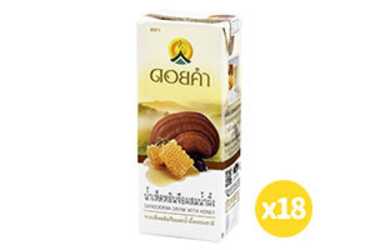 Doi Kham Ganoderma Juice with Honey 200ml (18 Packs)
