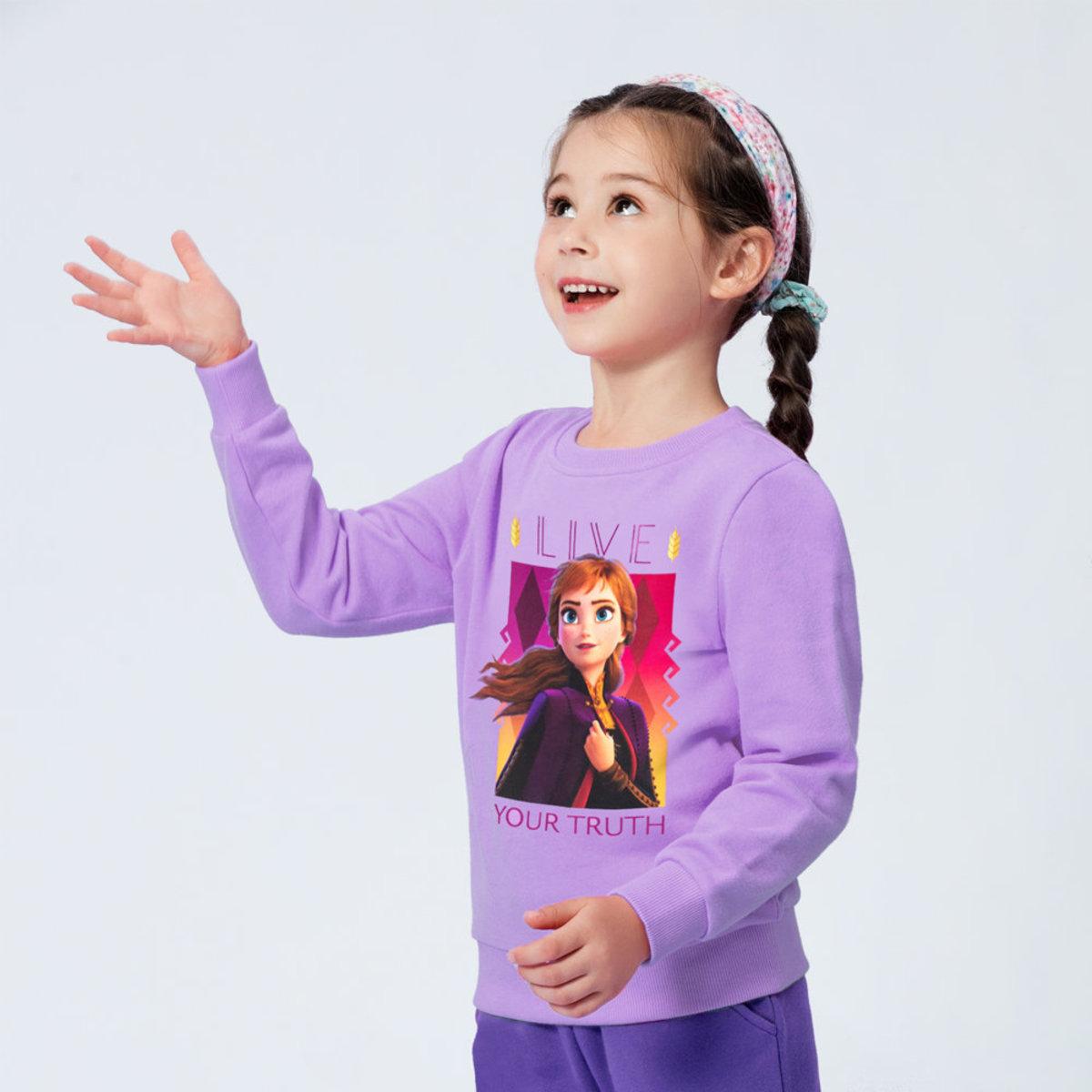Frozen II Kids' Printed Sweatshirt [Licensed by Disney]