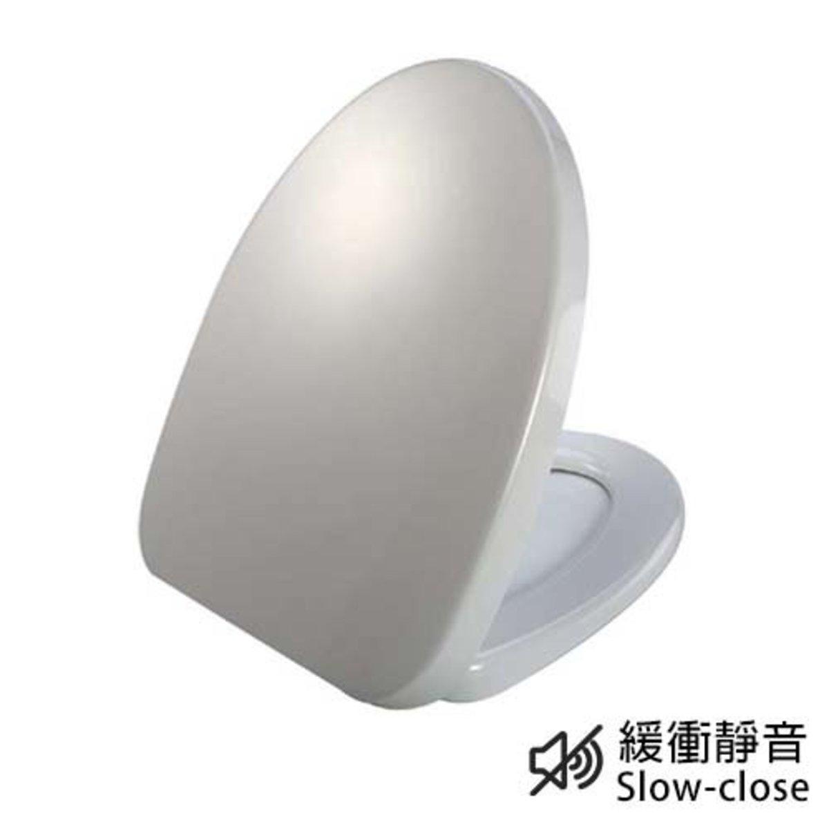 White Oil Pressure UF Toilet Seat 1A103
