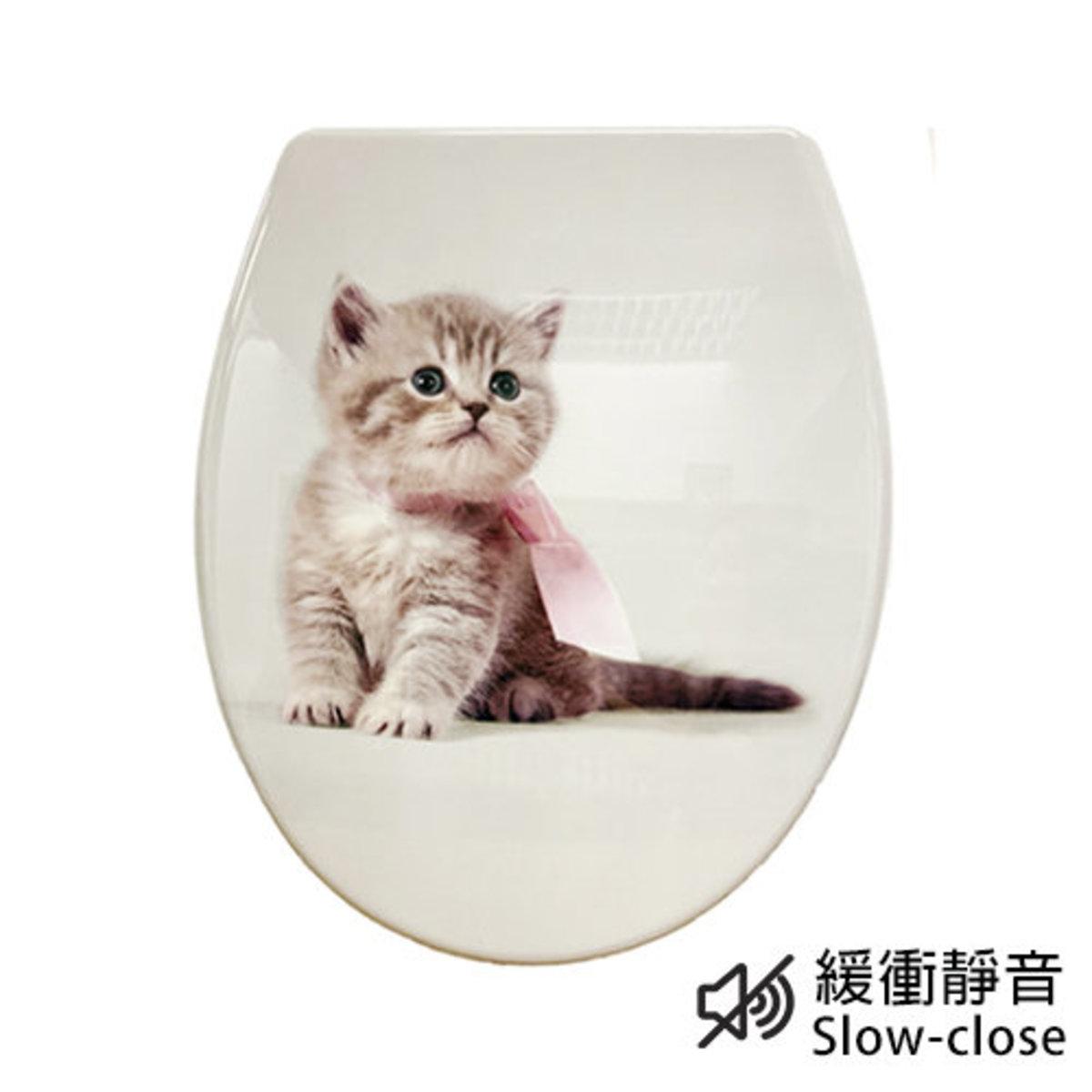 UF緩衝廁板 1C104 (動物圖案)