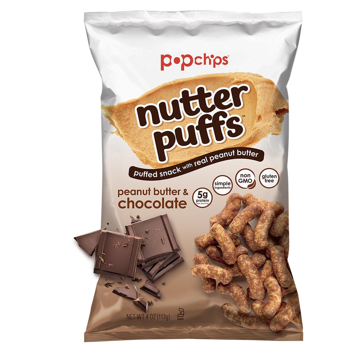 GLUTEN FREE NUTTER PUFFS - PEANUT BUTTER & CHOCOLATE