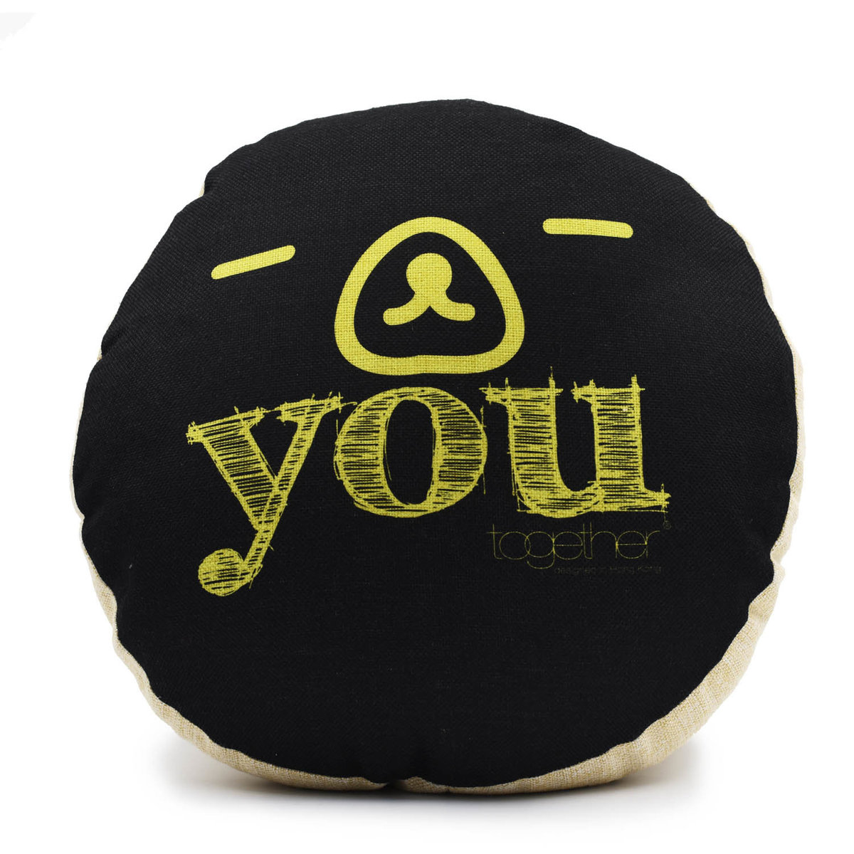 """""""YOU"""" CIRCLE CUSHION 1 PC ONLY"""