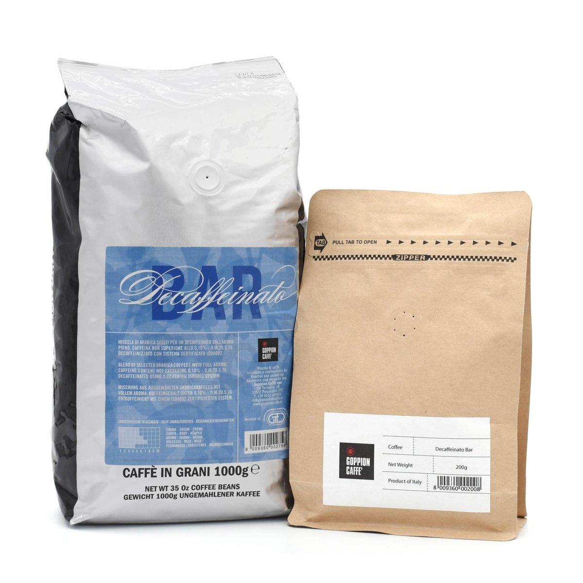 意大利脫咖啡因咖啡豆 200克