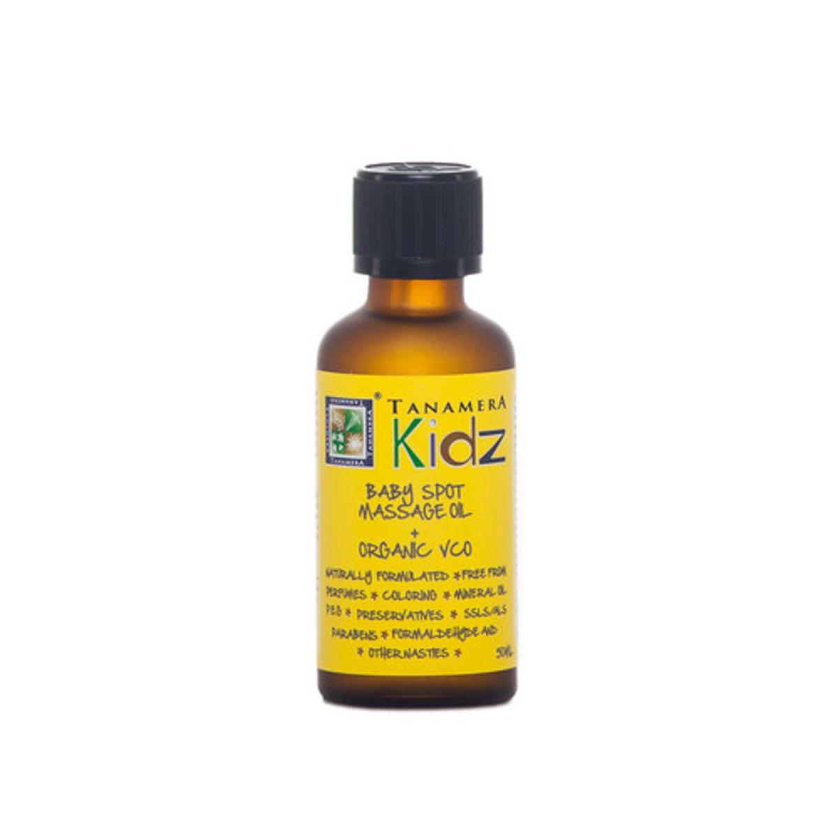 Kidz Baby Spot Massage Oil + Organic VCO