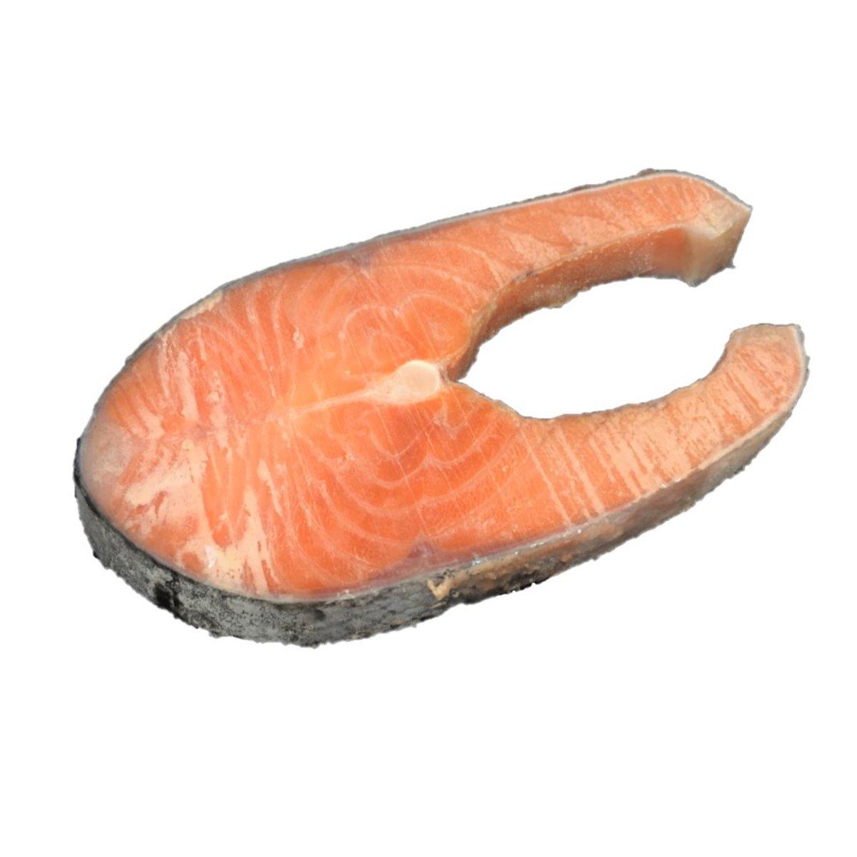 三文魚扒(2塊)(1lb) (急凍)