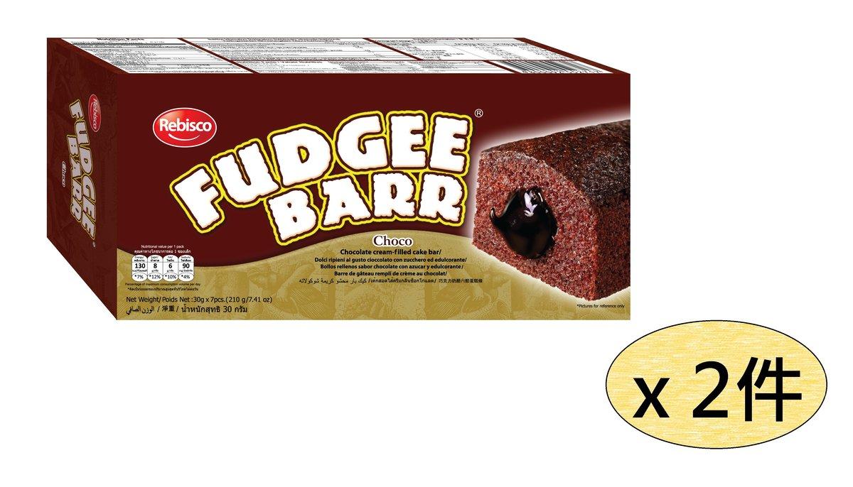 朱古力味蛋糕 7個裝 210克 x 2 盒