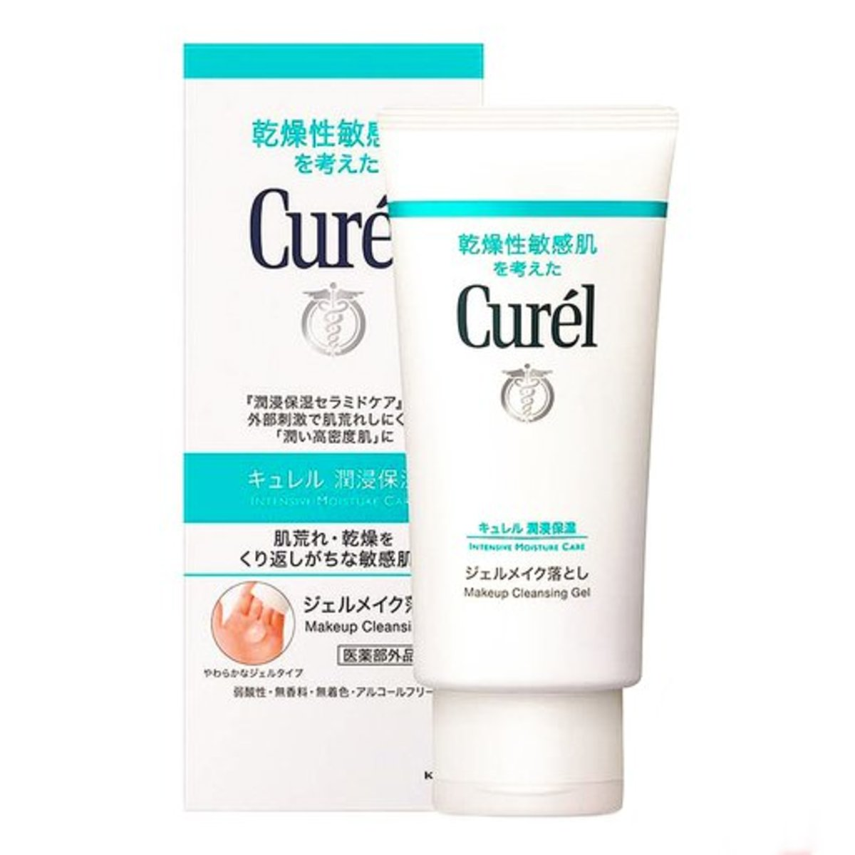 Intensive Moisture Care Makeup Cleaning Gel [4901301236203]