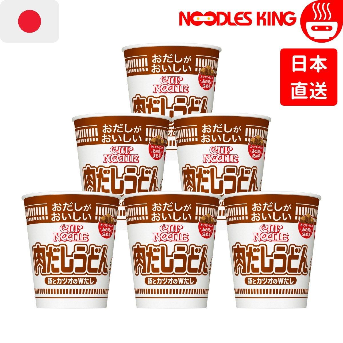 Cup Noodles Udon - Pork Dashi Flavour (Japan) 63g x 6