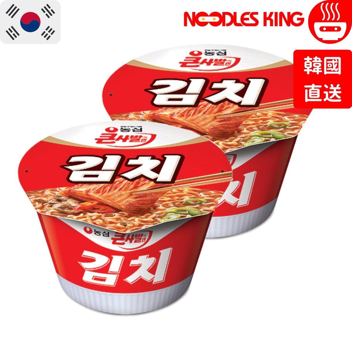 Kimchi Noodles Soup Big Bowl (Korea) 112g x 2