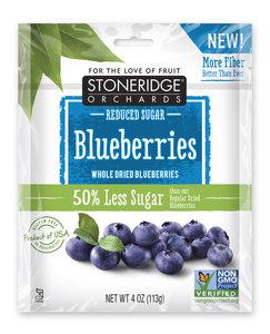 Stoneridge Orchards 原粒藍莓乾, 低糖, 4盎司 (113克)