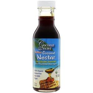 Coconut Secret 傳統椰子花蜜, 低糖甜味劑, 12液盎司 (355毫升)