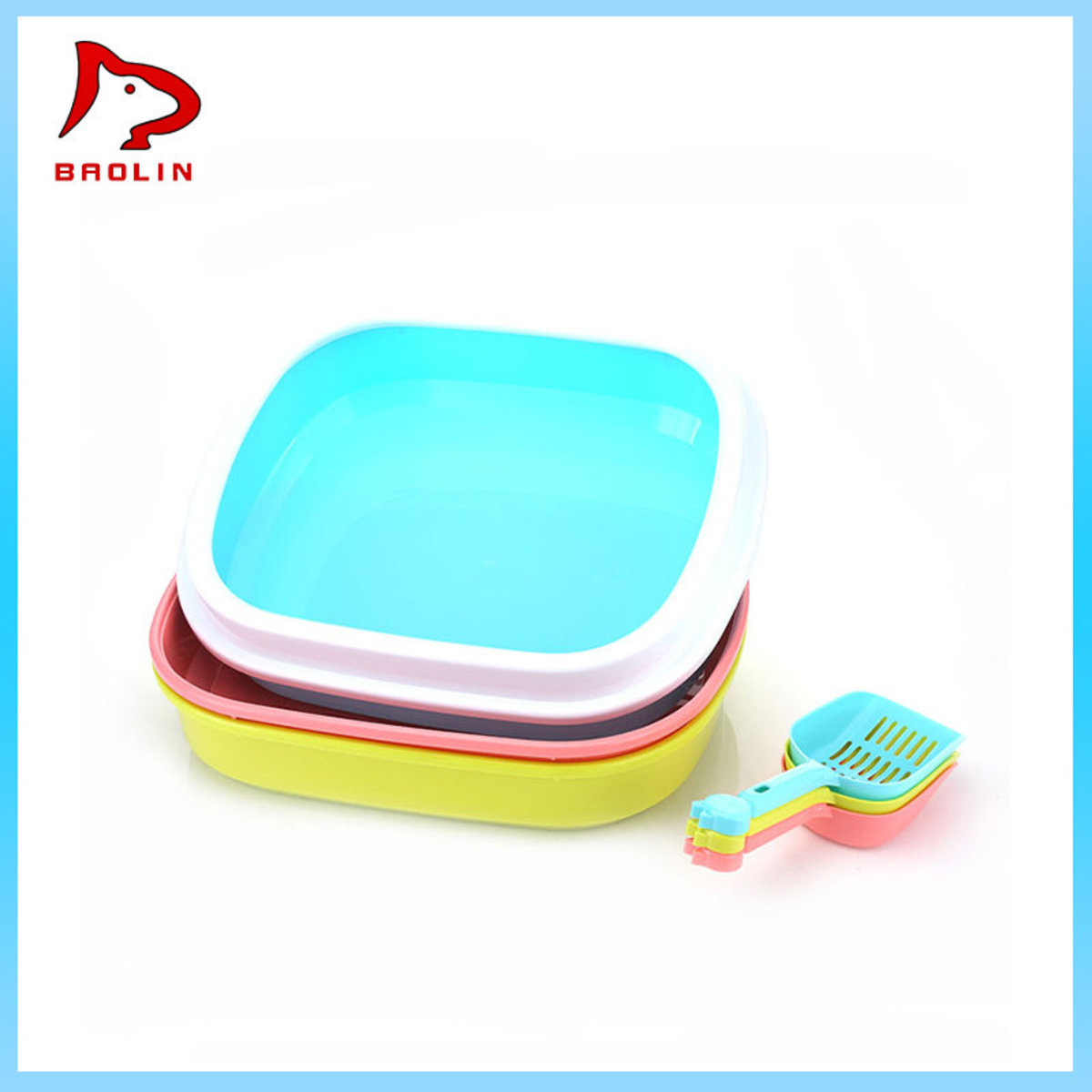 Umika Litter Box With Shovel - Medium