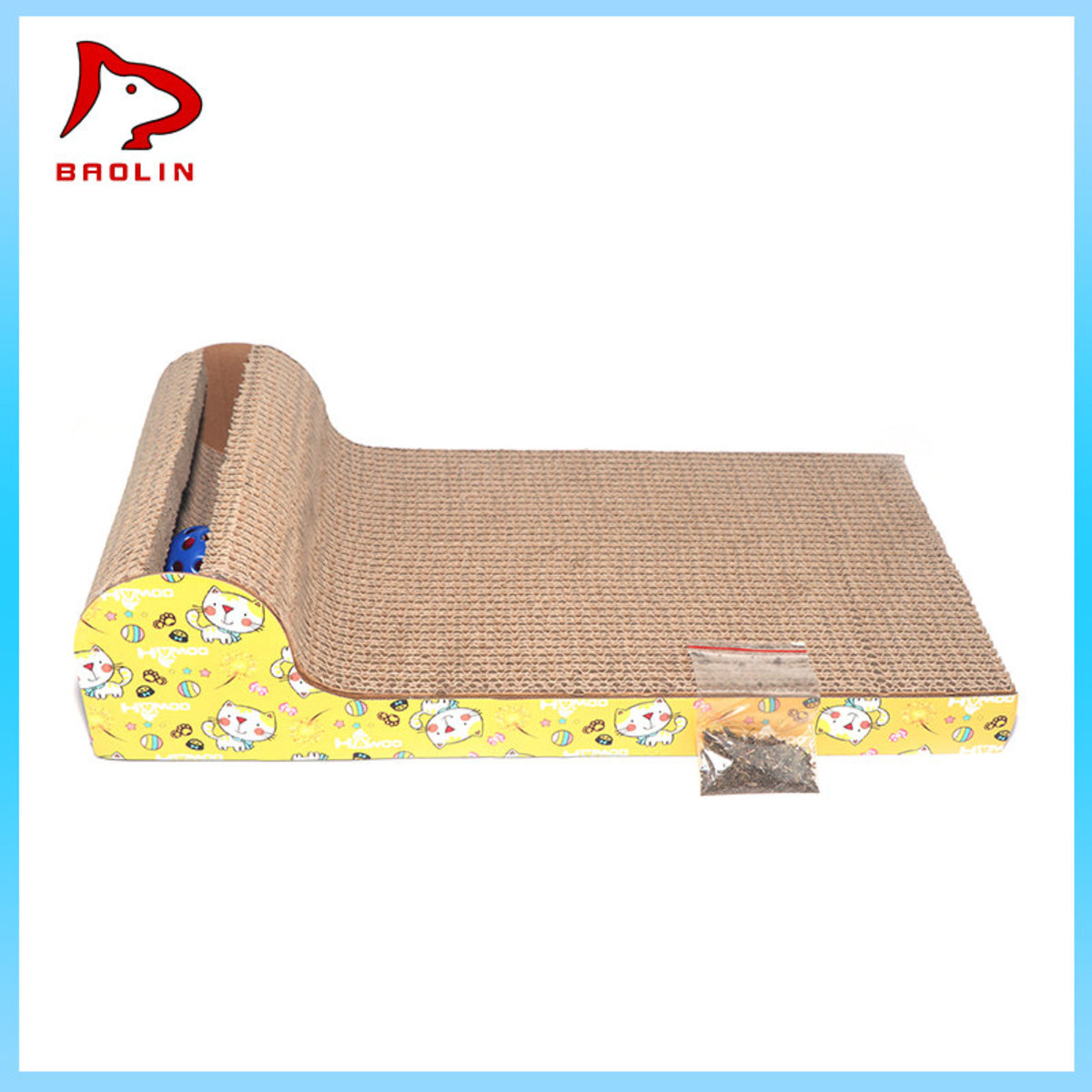 Scratching Board - Sofa With Ball