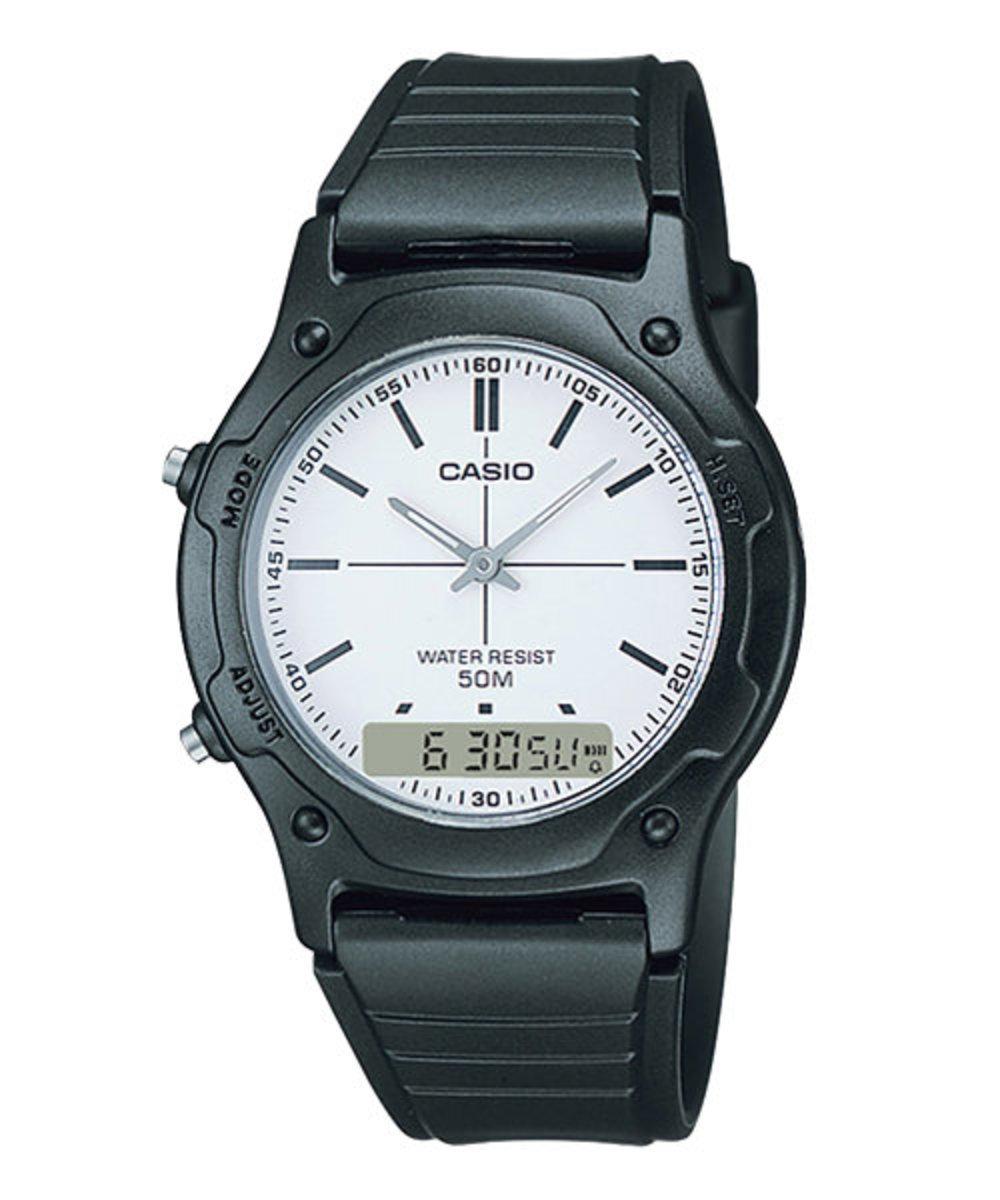 Classic Analog-digital Watch (Free Original CASIO White Gift Box)