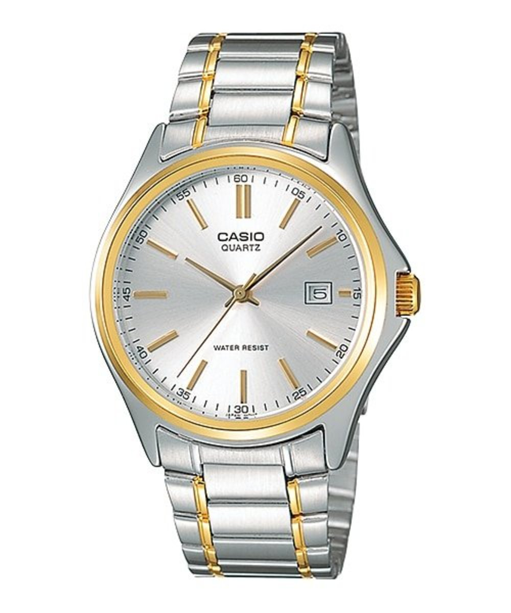 Stainless Steel Analog Men Watch(Free Original CASIO White Gift Box)