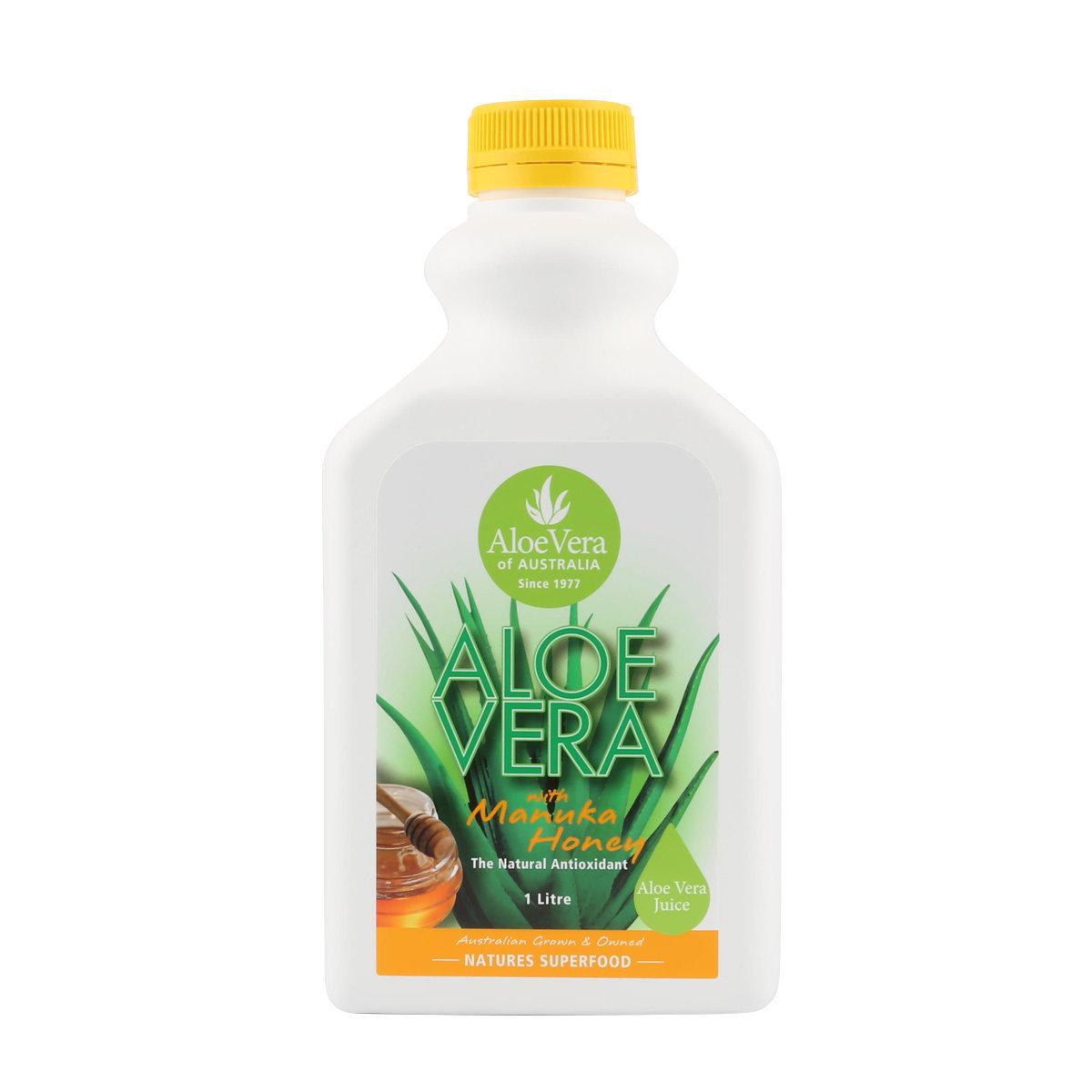 Aloe Vera Natural Juice with Manuka Honey 1L
