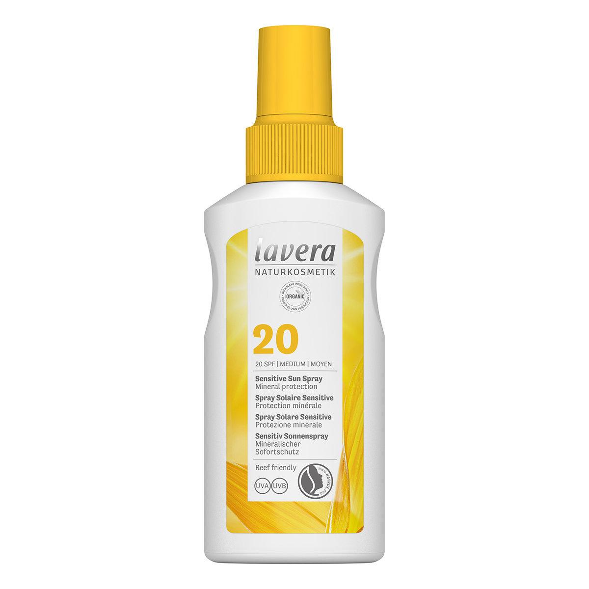 Sensitive Organic Sun Spray SPF 20