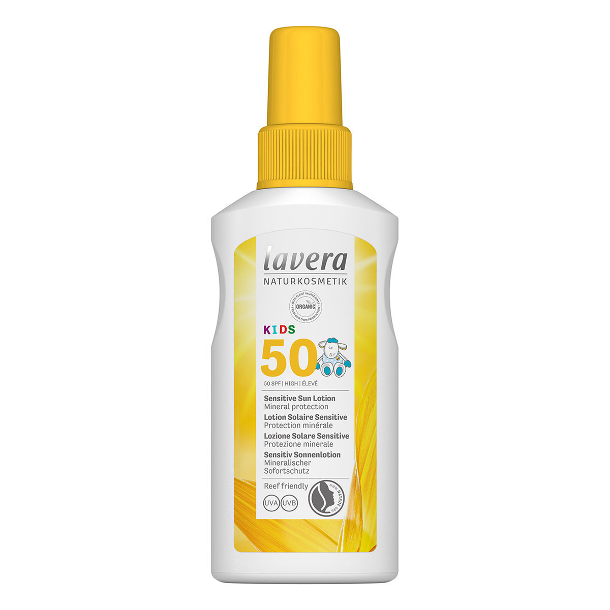 Kids' Sensitive Organic Sun Lotion SPF 50