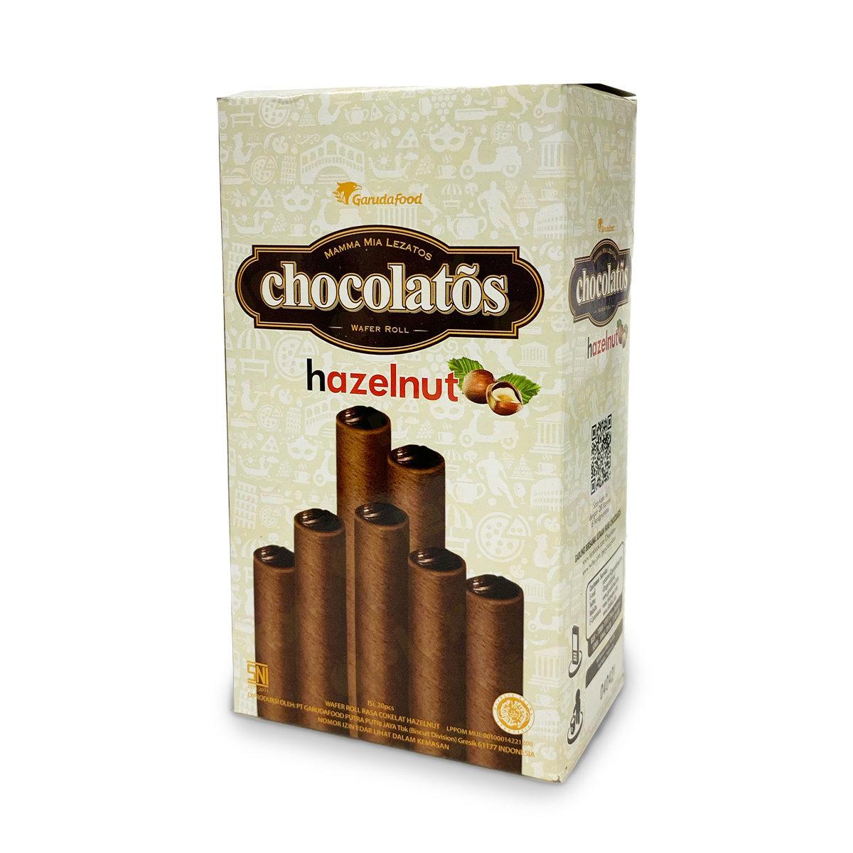 Gery Chocolatos Wafer Roll - Hazelnut (20pcs)