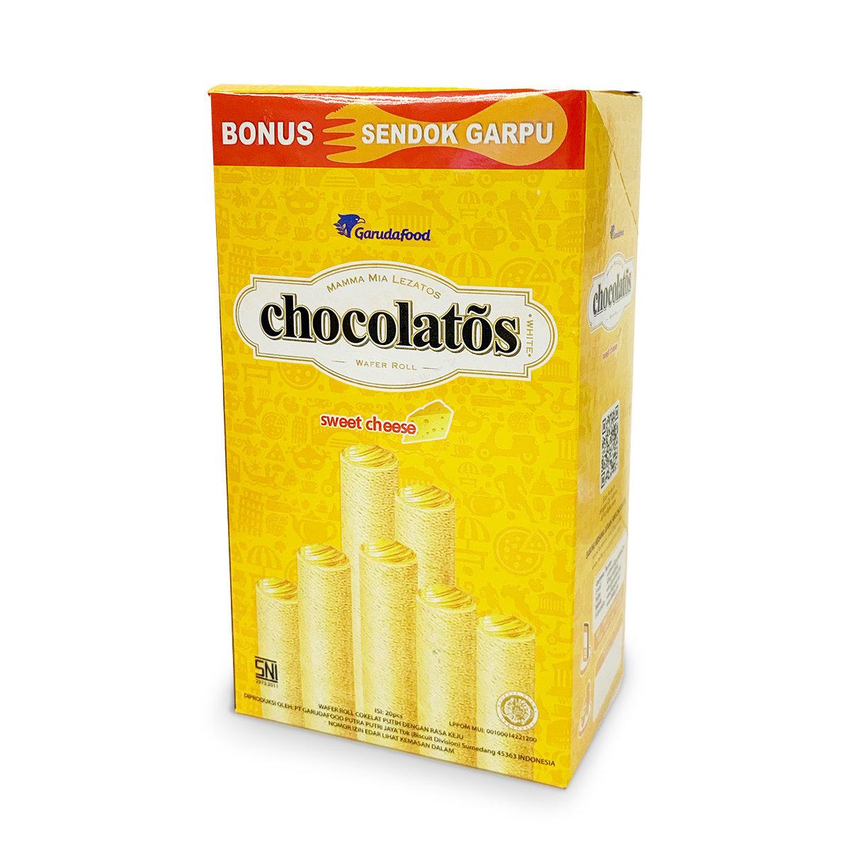 Gery Chocolatos Wafer Roll - Sweet Cheese (20pcs)