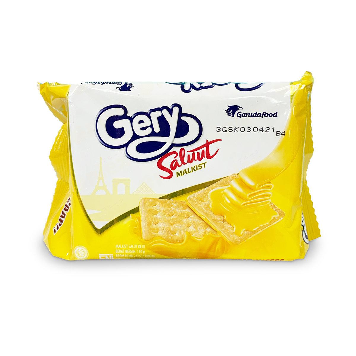 Gery Saluut 厚醬梳打餅 - 芝士味 (110克)