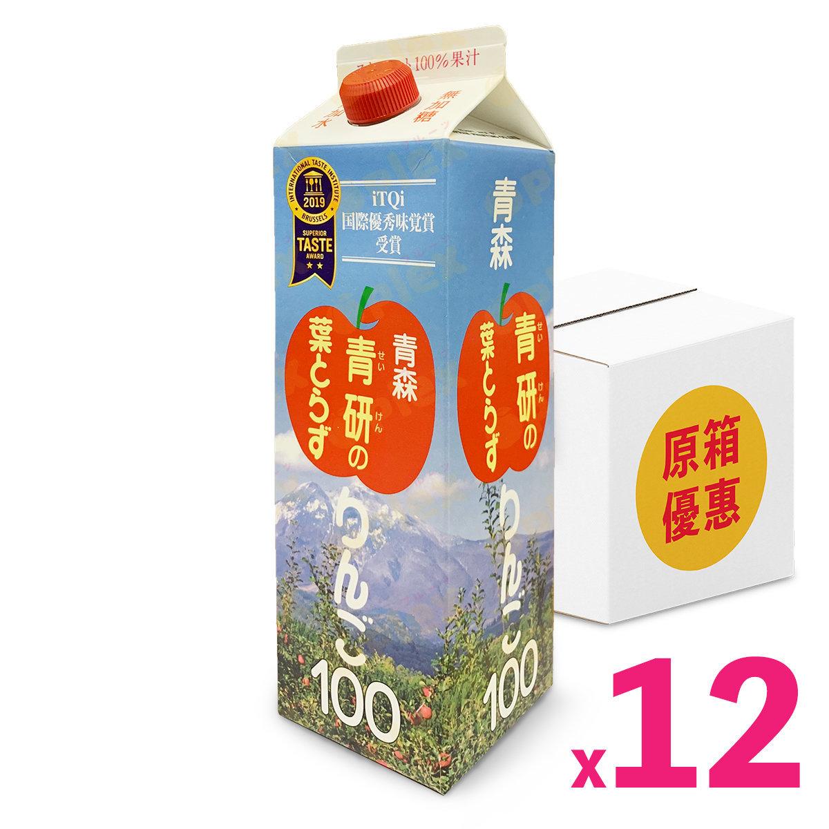 青森縣 100% 五式蘋果汁 (1000毫升) x 12支