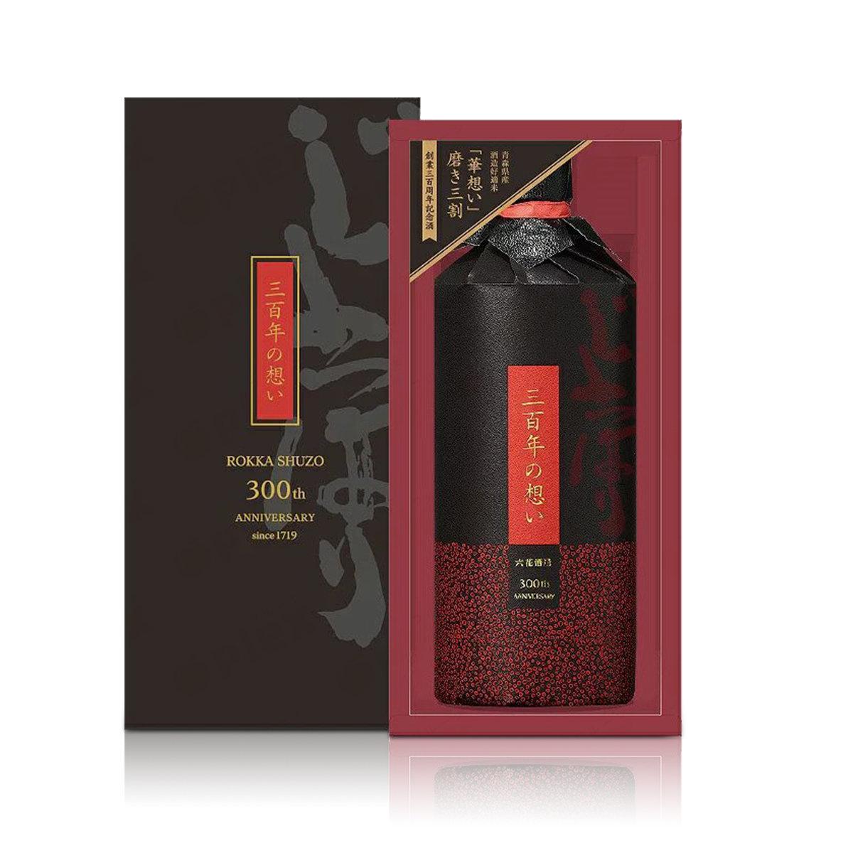 「300年紀念版」「華想- 三百年の想い」純米大吟醸 [精米度30%] 720毫升