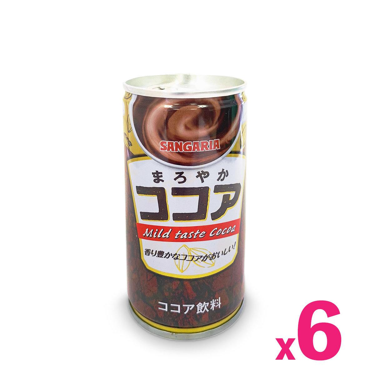 Japanese Mild Taste Cocoa (190ml) x 6