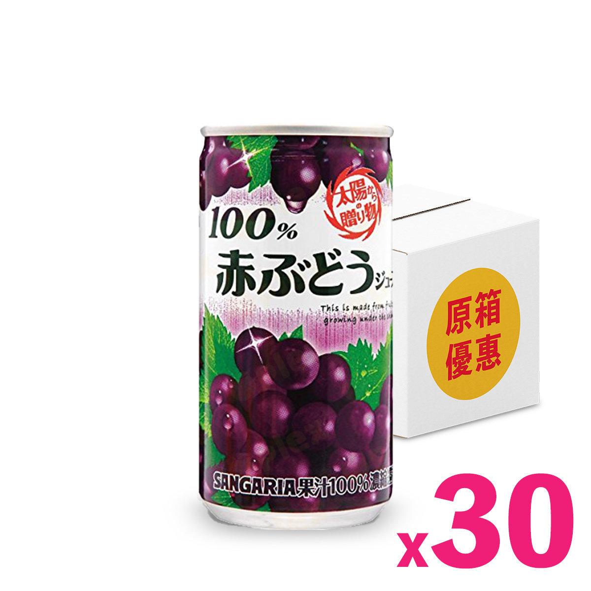 日本天陽之禮物提子汁 (190毫升) x 30