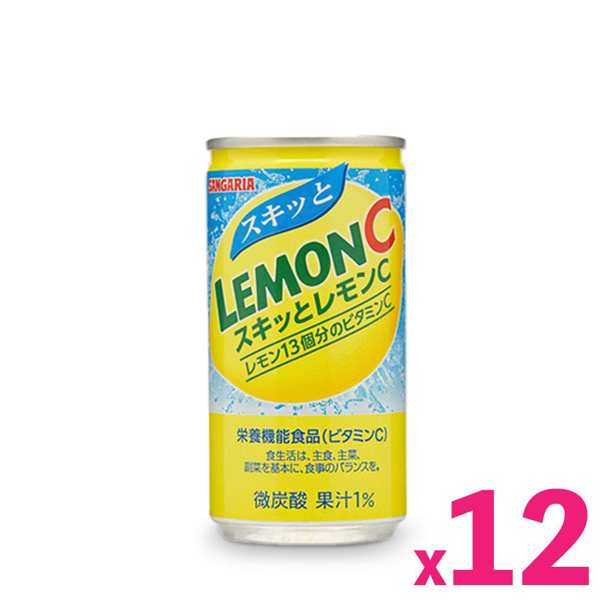 Japan Vitamin C Tonic Lemon Water (190ml) x 12
