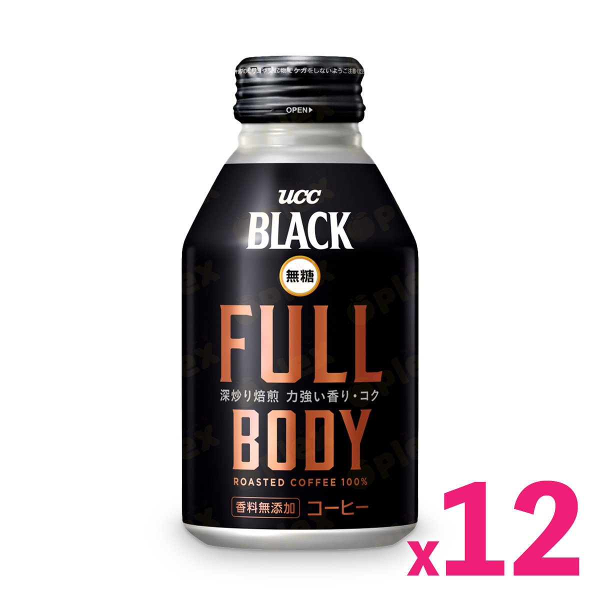 Full Body Sugar Free Black Coffee (275ml) x 12cans