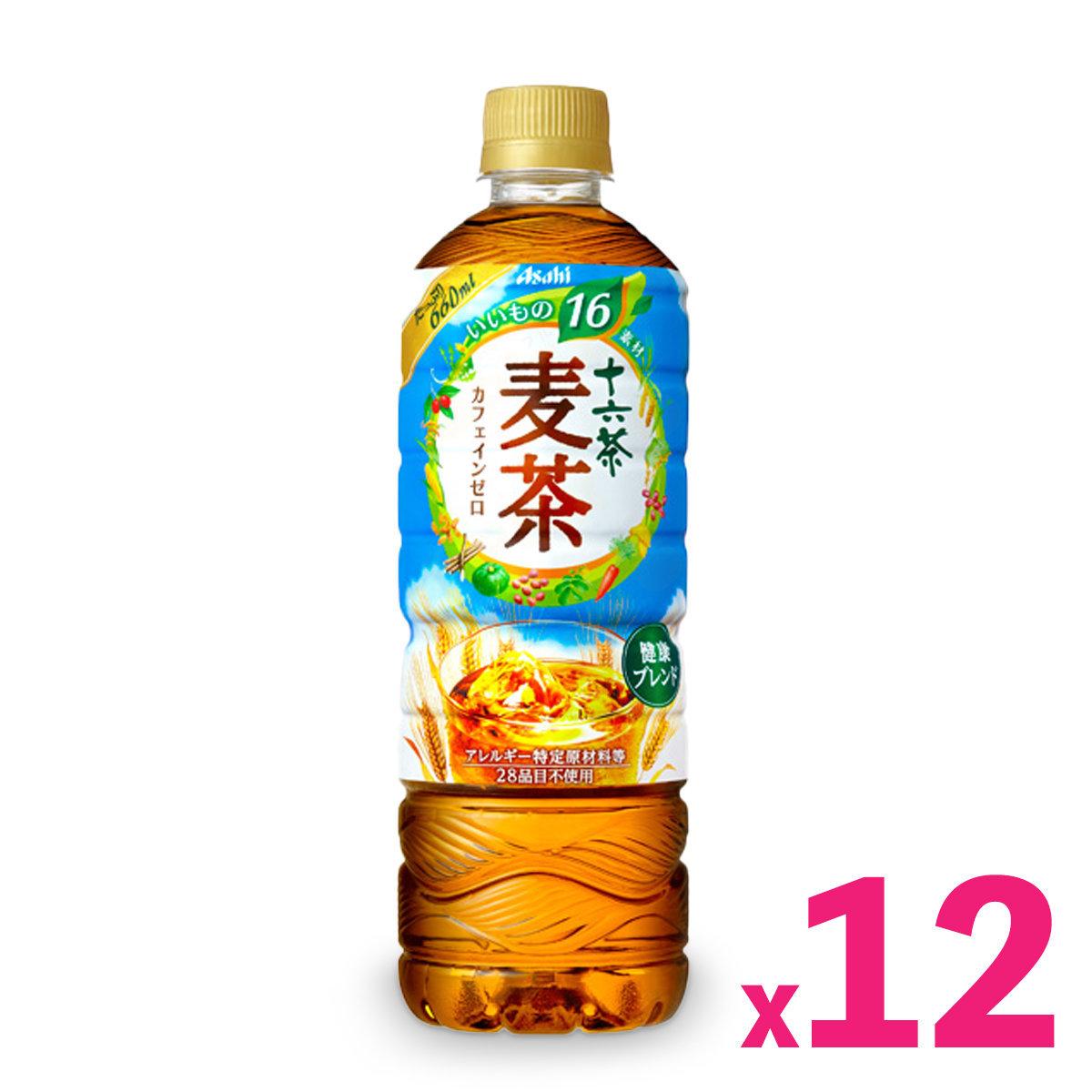 朝日「十六茶」麥茶 (660毫升) x 12支