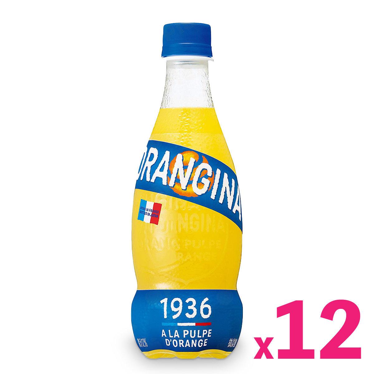 Orangina Carbonated Orange Juice (420ml) x 12bottles